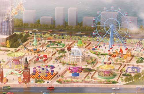 Applications of Beston Amusement Park Rides
