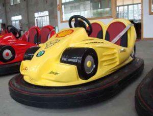Yellow Bumper Car Rides