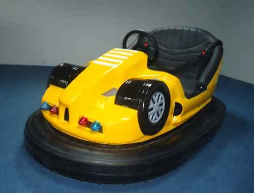 Yellow New Bumper Car Rides