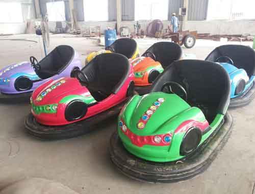 Amusement Park Bumper Car Rides