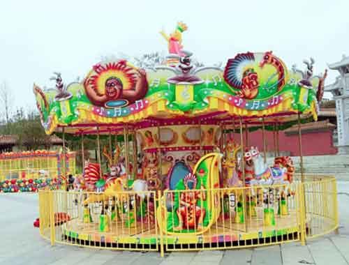 Fairground Forest Carousel