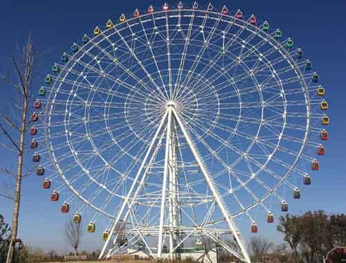 120 Meter Vintage Ferris Wheel