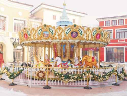 Beston Carousel Rides
