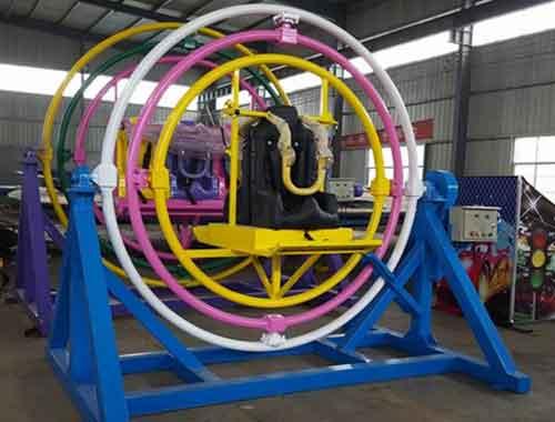 2 Seat Human Gyroscope Rides
