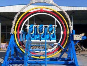 6 Seat Human Gyroscope Rides