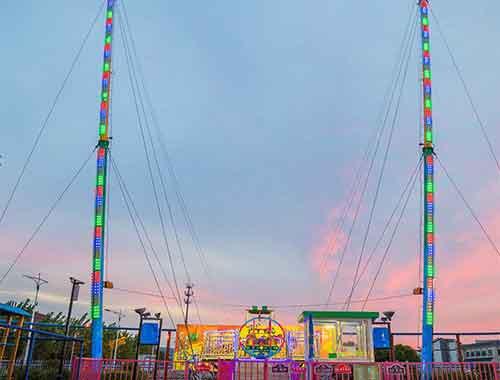 Human Slingshot Amusement Rides