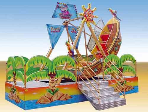 Kiddie Mini Pirate Ship Rides