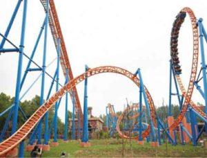 Steel Roller Coaster for Sale