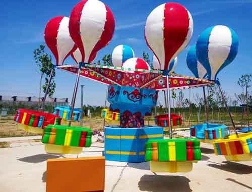 Samba balloon amusement rides for family fun
