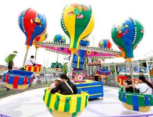 Samba Balloon Amusement Rides With 24 Seat
