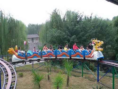 Golden Dragon Small Roller Coaster Ride