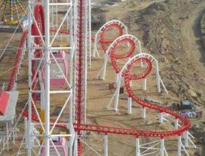 3 Ring Smaller Roller Coaster