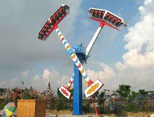 Kamikaze Amusement Rides