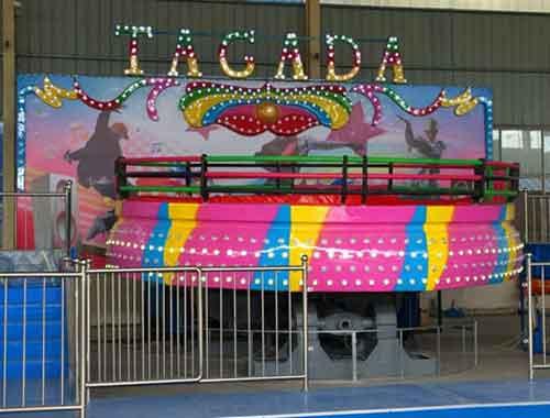 24 Passengers Tagada Rides