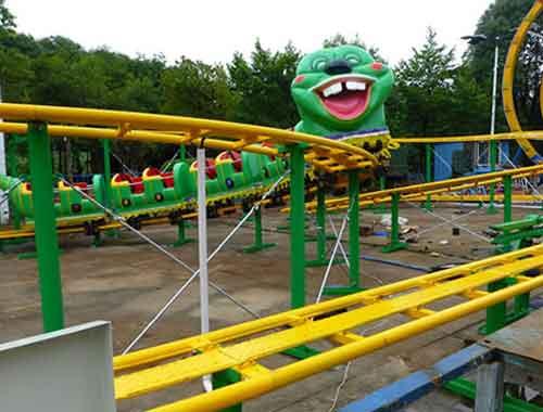 Slide Worm Vintage Roller Coaster