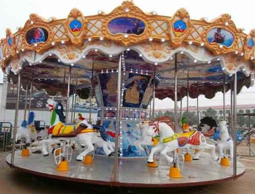 Beston Vintage Single Decker Carousel