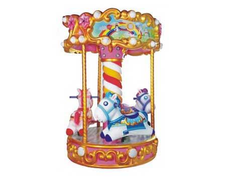 Antique Mini Merry Go Round