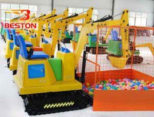 Beston Children Excavator Rides for Sale