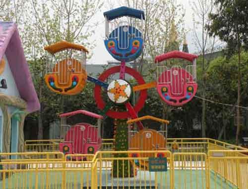 Mini 5 Seats Ferris Wheel for Kids
