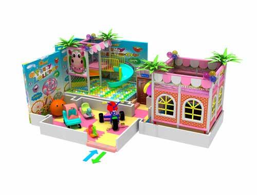 Small Indoor Playground Equipment in Beston