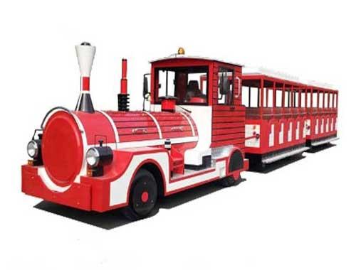 Amusement Park Trackless Train