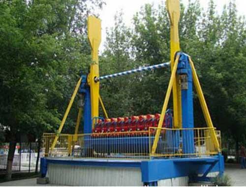Top Spin Amusement Parks Rides